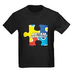 Autism Puzzle Kids Dark T-Shirt