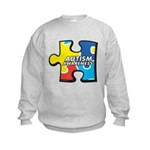 Autism Puzzle Kids Sweatshirt