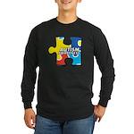 Autism Puzzle Long Sleeve Dark T-Shirt