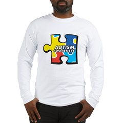 Autism Puzzle Long Sleeve T-Shirt