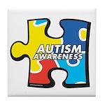 Autism Awarness Puzzle Tile Coaster