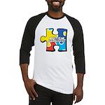 Autism Puzzle Baseball Jersey