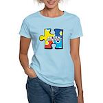 Autism Puzzle Women's Light T-Shirt