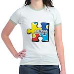 Autism Puzzle Jr. Ringer T-Shirt