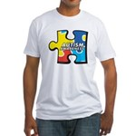 Autism Puzzle Fitted T-Shirt