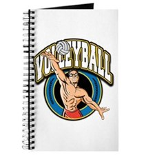 Men's Volleyball Logo Journal