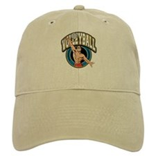 Men's Volleyball Logo Baseball Cap