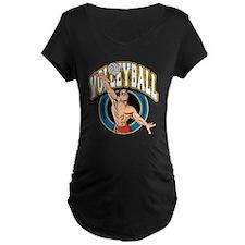Men's Volleyball Logo T-Shirt