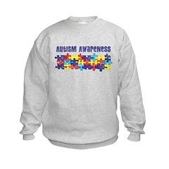Autism Awareness Puzzle Piece Sweatshirt