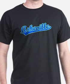 Retro Asheville (Blue) T-Shirt