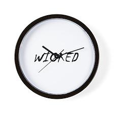 Cute Wicked Wall Clock