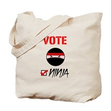 Vote Ninja Tote Bag