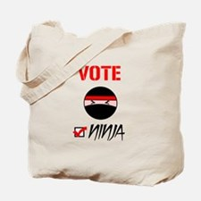 Vote Ninja Tote Bag