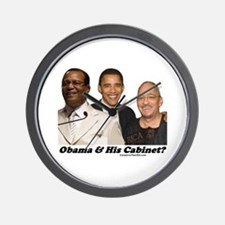 """Obama's Cabinet?"" Wall Clock"