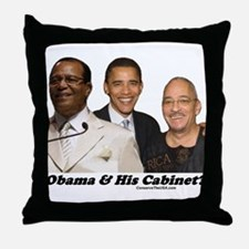 """""""Obama's Cabinet?"""" Throw Pillow"""