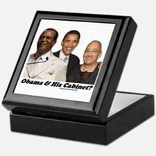 """Obama's Cabinet?"" Keepsake Box"