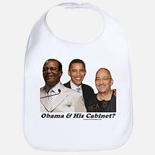 """""""Obama's Cabinet?"""" Bib"""