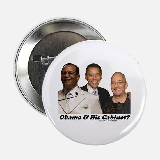 """""""Obama's Cabinet?"""" 2.25"""" Button"""