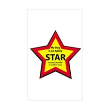 Agility Star Rectangle Decal