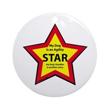 Agility Star Ornament (Round)
