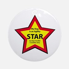 Agility Star Ornament (Round)