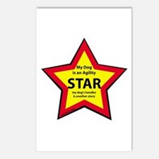Agility Star Postcards (Package of 8)