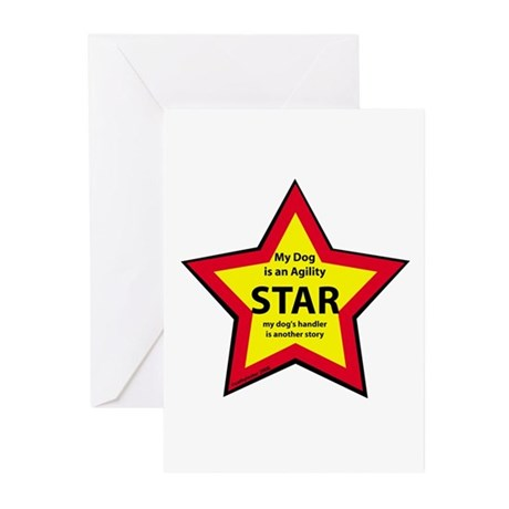 Agility Star Greeting Cards (Pk of 10)