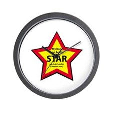 Agility Star Wall Clock