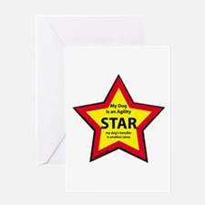 Agility Star Greeting Card