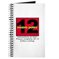 12 Weave Poles Journal