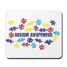 Autism Awareness Puzzle Piece Mousepad