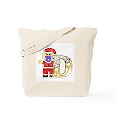 Baby Initials - D Tote Bag