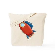 Cute Rocket Picture 2 Tote Bag