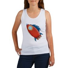 Cute Rocket Picture 2 Women's Tank Top