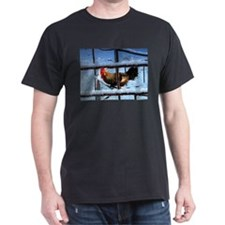 Chicken in the Snow T-Shirt