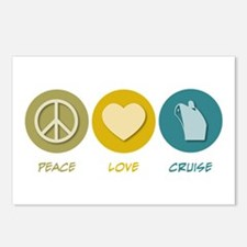 Peace Love Cruise Postcards (Package of 8)