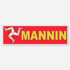 Mannin Bumper Bumper Bumper Sticker
