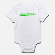 Vintage Samut Prakan (Green) Infant Bodysuit