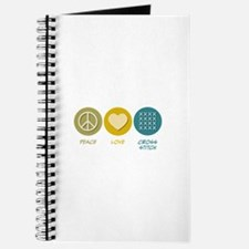 Peace Love Cross-stitch Journal