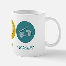 Peace Love Crochet Mug