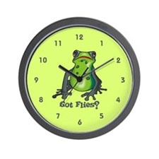 Got Flies Wall Clock