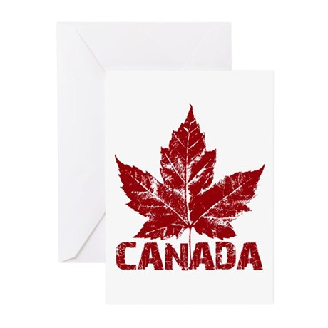 Cool Canada Greeting Cards Pk Of 10 By Cool Canadian