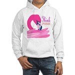 Think Pink Hooded Sweatshirt
