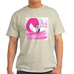 Think Pink Ash Grey T-Shirt