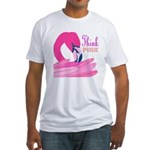 Think Pink Fitted T-Shirt