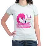 Think Pink Jr. Ringer T-Shirt