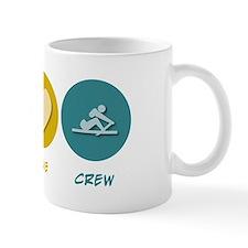 Peace Love Crew Small Mug