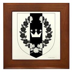 Queen of the West Framed Tile