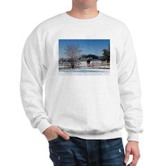 Snow at the Ranch Sweatshirt