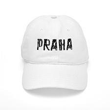 Praha Faded (Black) Baseball Cap